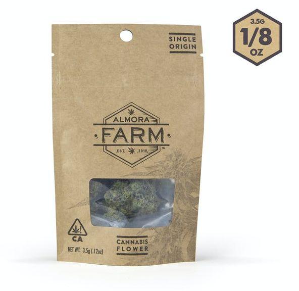Almora Farm: 3.5g Flower: Berry White [H]