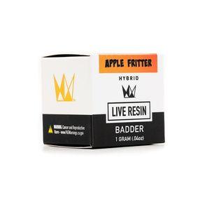 Apple Fritter Live Resin Badder