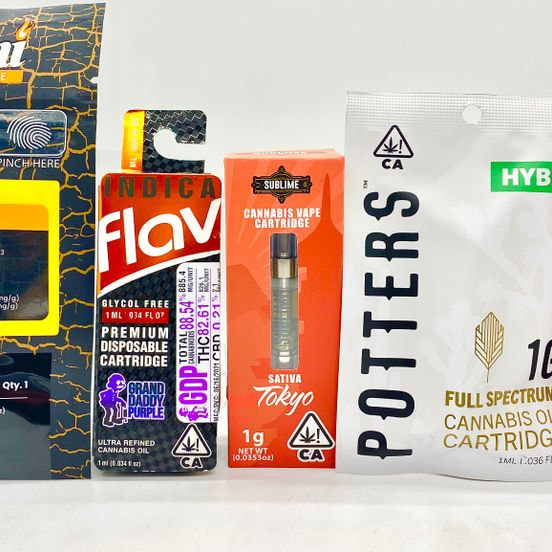 *Deal! $99 Mix n' Match (3) 1g Cartridges from Potters, Sublime, Flav & Dani Fire + Syrup