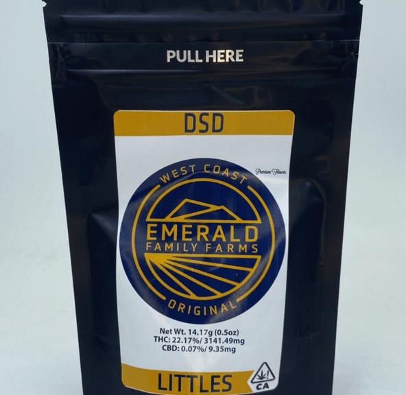 Dosidos - 14g smalls (THC 21%) by Emerald Family Farms