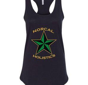 **SALE** Women's Tank Top   Black   NorCal Holistics Apparel