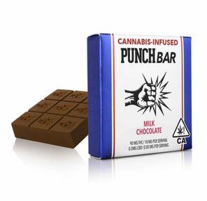100mg Milk Chocolate PunchBar - PUNCH EDIBLES