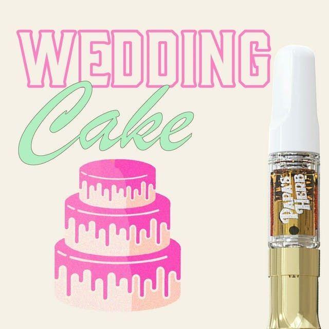 PAPA'S HERB - WEDDING CAKE 1 GRAM CARTRIDGE