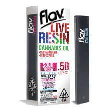 Flav - Live Resin Pod - Sour Berry - 0.5G