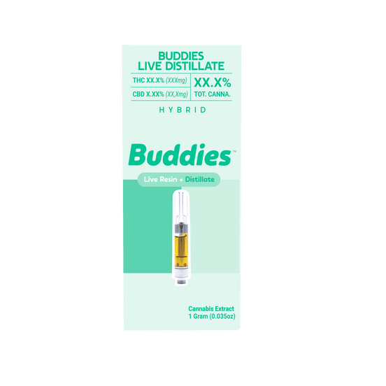 Buddies - Blue Banana Live Distillate 1g