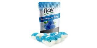 Flav Blue Raspberry Rings 100mg