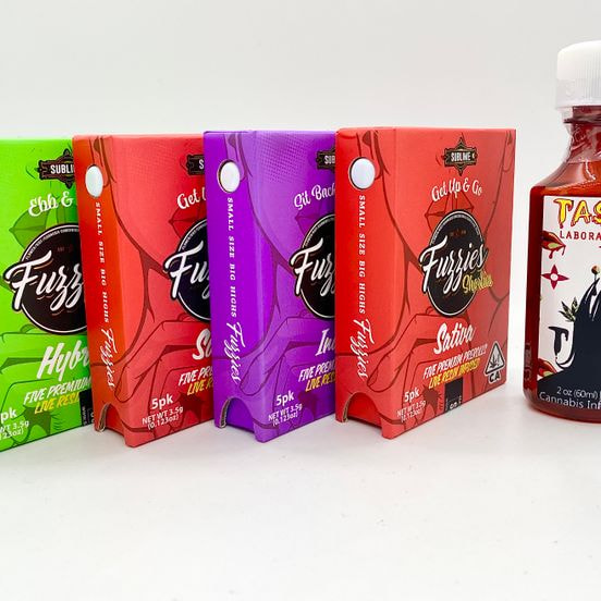 *Deal! $139 Buy Any (4) 3.5g Shorties Fuzzies 5-Packs + 50mg Syrup