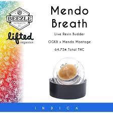 BEEZLE - 1G BUDDER - MENDO BREATH