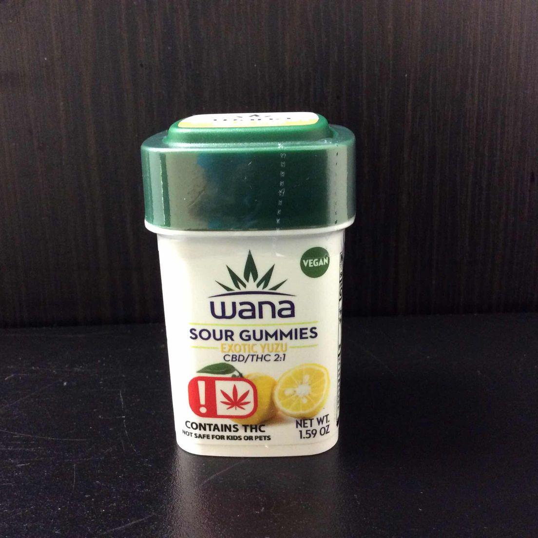 2:1 CBD/THC Gummies by Wana