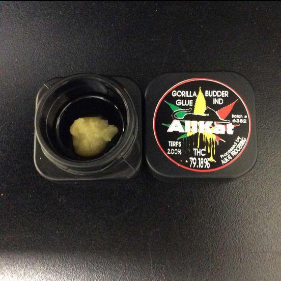 AliKat Budder - Gorilla Glue - 1g