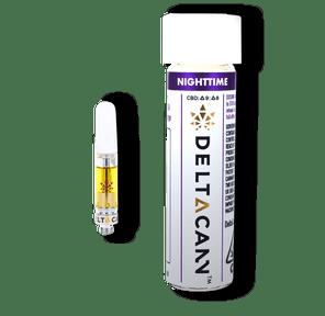 Deltacann - THC/CBD Cartridges (500mg) - Nighttime Forbidden Fruit