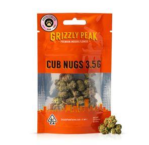 B. Cub Nugs 3.5g Small Flower - 8/10 - Purple Reign (~25% THC)