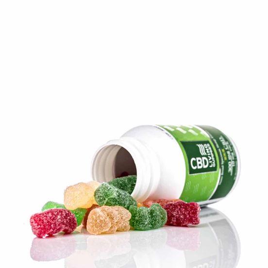 CBD Living Sour Gummies Bottle 300mg