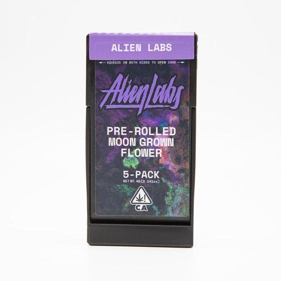 ALIEN LABS - 5PK PREROLL - KRYPTO CHRONIC