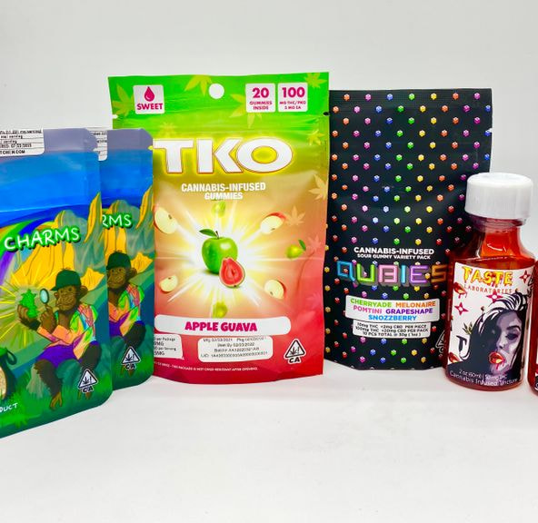 *Deal! $65 for 400mg THC Mix n' Match Any TKO, Qubies, Buddy Charms & Taste Edibles