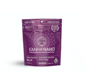KE - THC - Indica NANO Galactic Grape 100mg (10 mg/each)