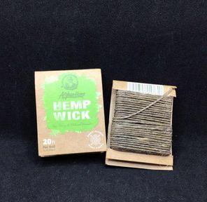 Afghan Hemp - Hemp Wick (20 ft)