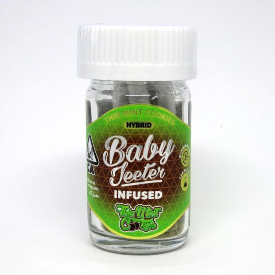 BABY Jeeter Infused 5pk Thin Mint