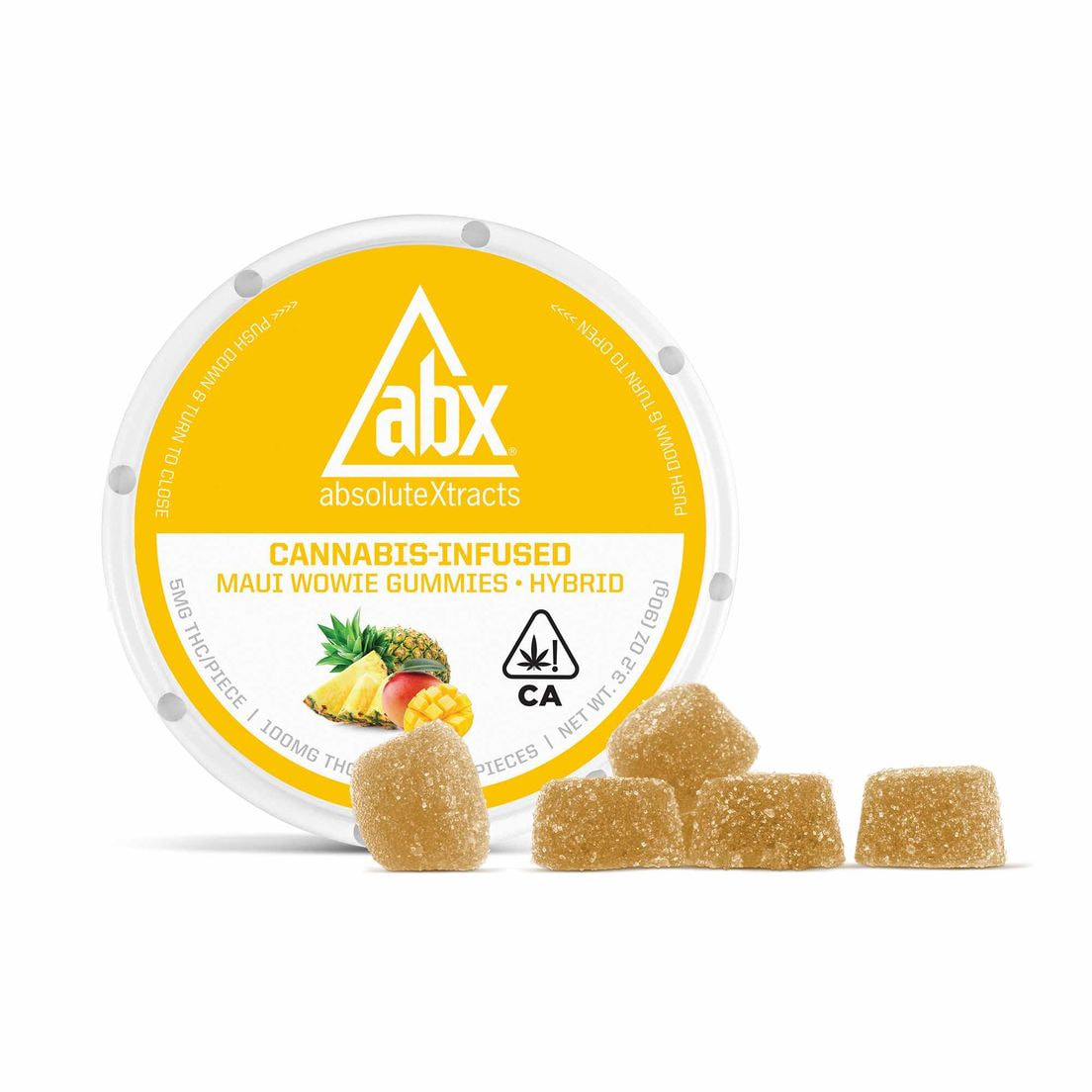 All-Natural Gummies Maui Wowie - 20 count