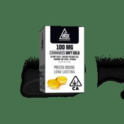 [ABX] THC Soft Gels - 100mg 10ct - Refresh