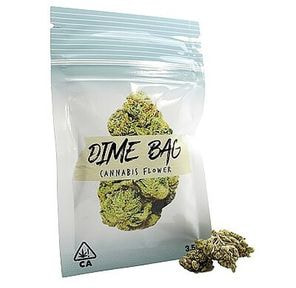 Dime Bag | Birthday Cake | Indica | Flower | 3.5g | 21% THC