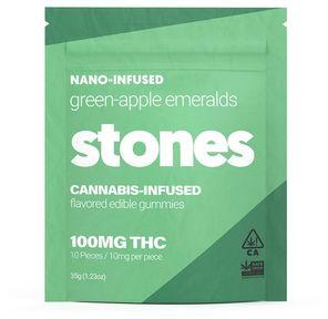 100mg Green Apple Gummies - STONES