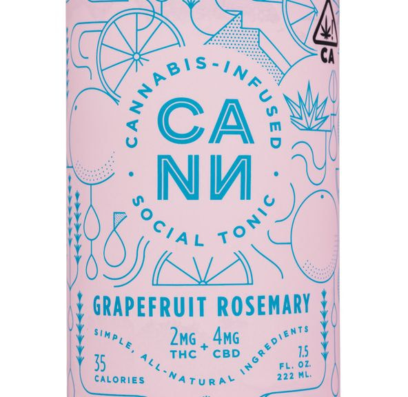 [CANN] CBD Drink - 2:1 - Grapefruit Rosemary