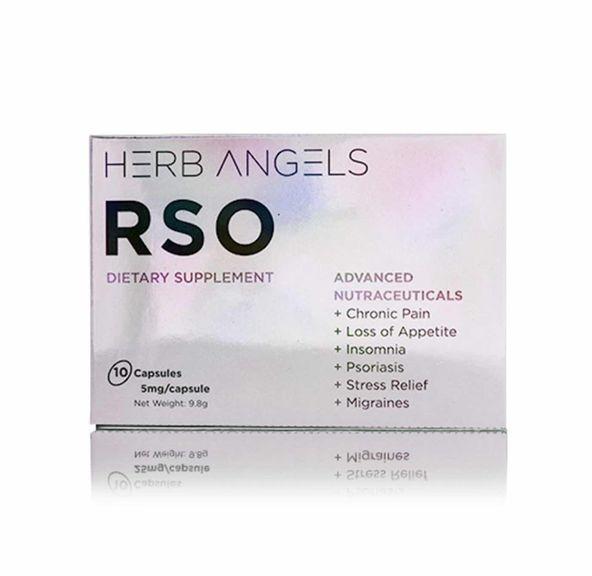 5mg THC RSO x 10 Capsules - Herb Angels