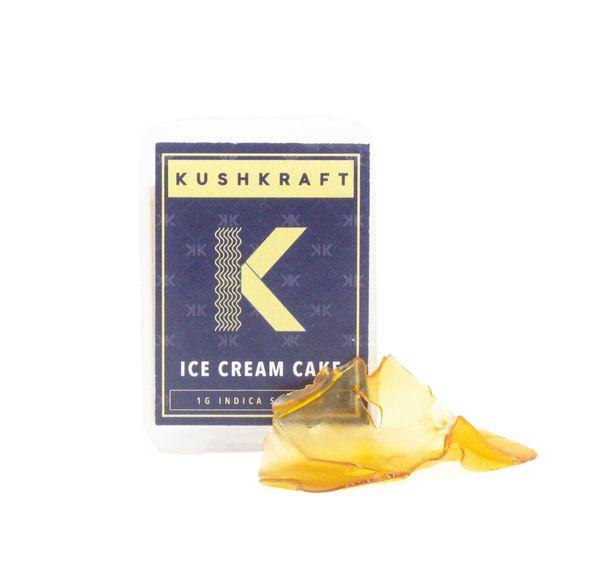 1G Indica Shatter by KushKraft