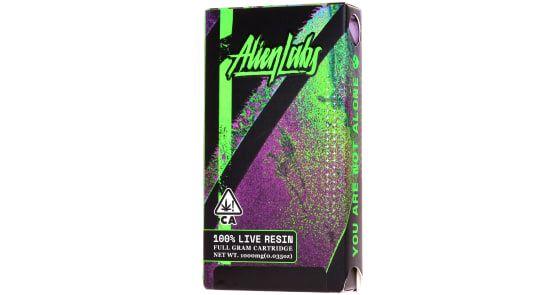 Alien Labs Live Resin Cartridge - Cannis Major x Moonbow 67%