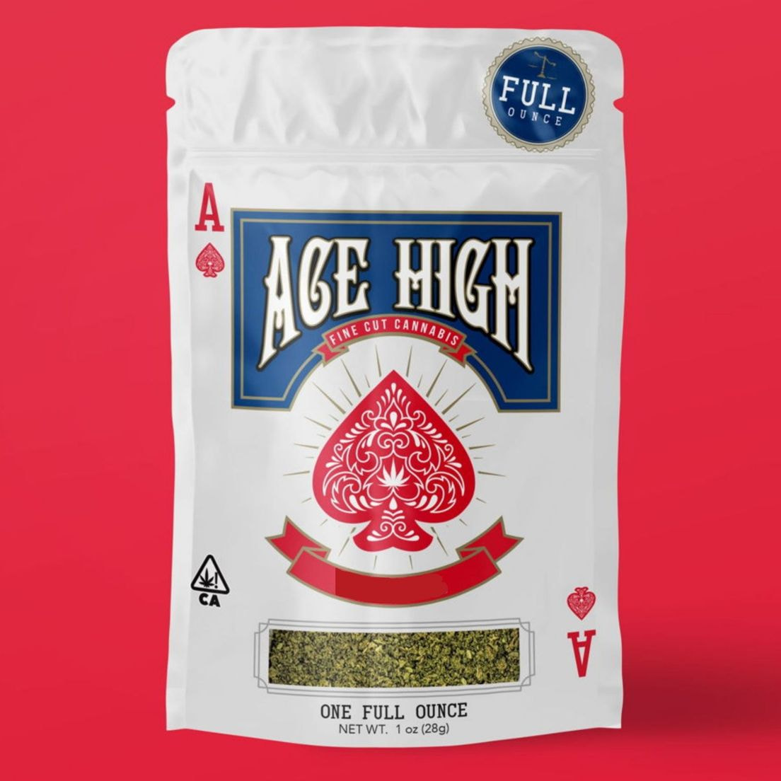 A. Ace High 28g Shake Flower - Sundae Driver (~17%)