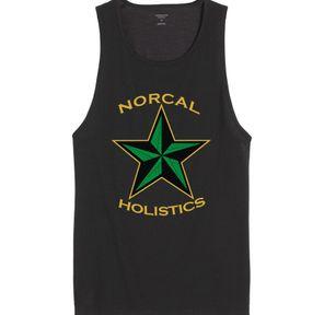 **SALE** Men's Tank Top   Black   NorCal Holistics Apparel