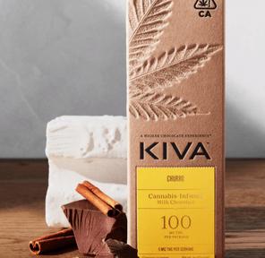 Kiva Bar - Milk Chocolate Churro