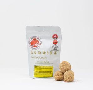 160mg Sativa Chocolate Peanut Butter Buddiez by Green Rabbit