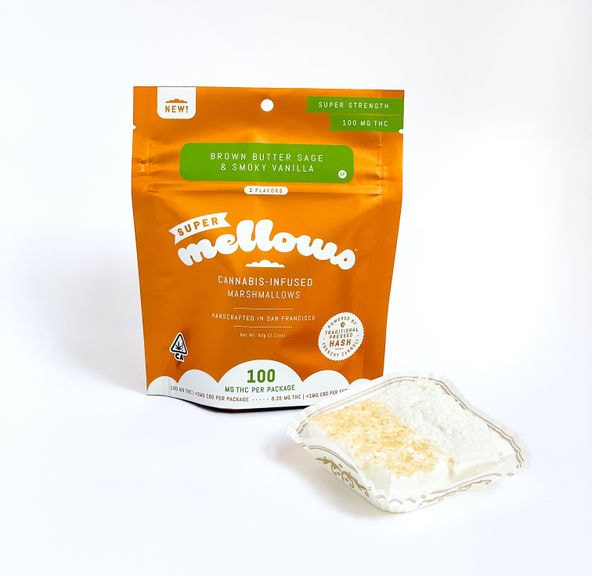 Brown Butter Sage & Vanilla Marshmallow - 100mg