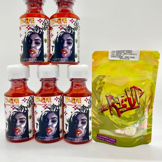 *Deal! $59 for (5) 50mg Syrups by Taste + (1) 50mg Fruit Cubes by The Re-Up
