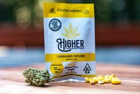 Higher Edibles - GF Salted Canna-Corn Kernels 10mg Indica