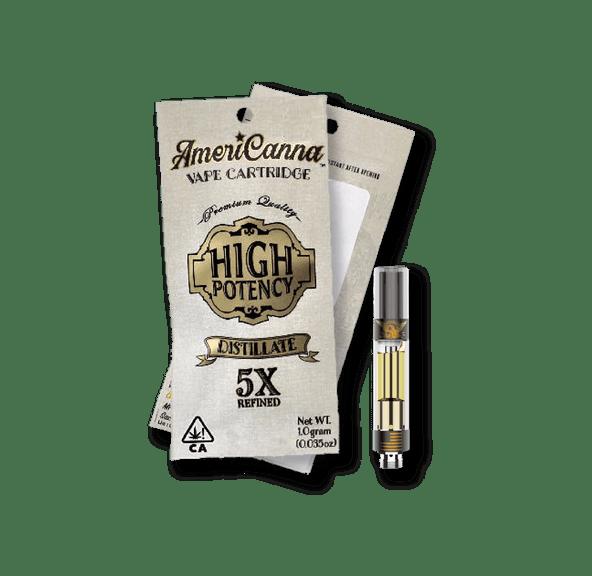AmeriCanna Limoncello 28 1g Cartridge 86.40%