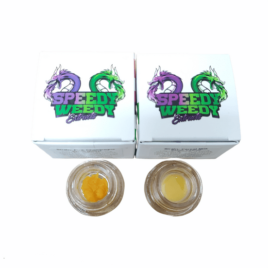 1. Speedy Weedy 1g Badder - Tequila Sunrise - 3/$60 Mix/Match
