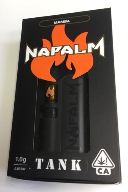 NAPALM - MAMBA LIVE RESIN DIAMONDS 1G VAPE CART W/BATTERY TANK