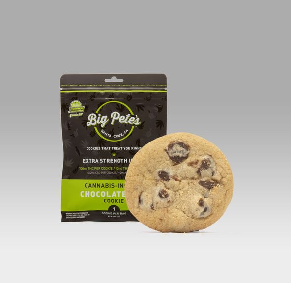 [Big Petes Treats] Single Potent Cookie - 100mg - Chocolate Chip (I)