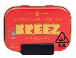 Breez - Cinnamon CBD  100mg + 100mg