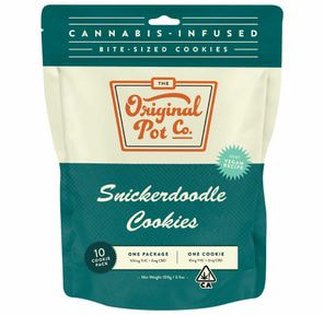 100mg Snickerdoodle Cookies (10 pc) - ORIGINAL POT COMPANY