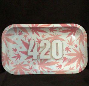 420 Pink Rollin' Tray Medium