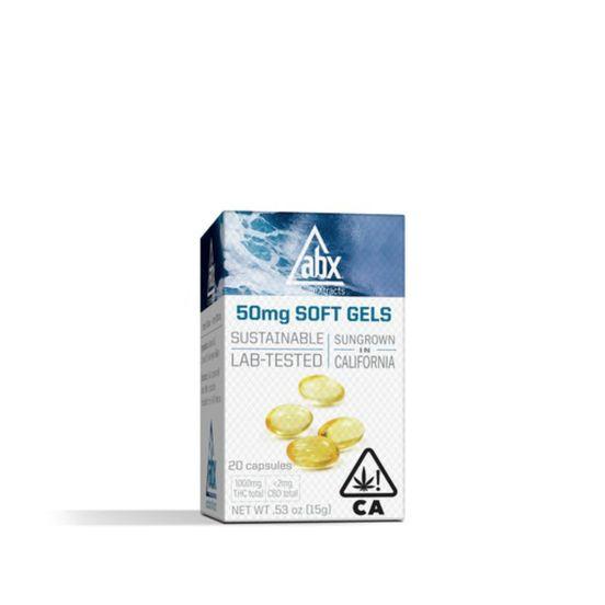 ABX Softgels 50 mg - 10ct