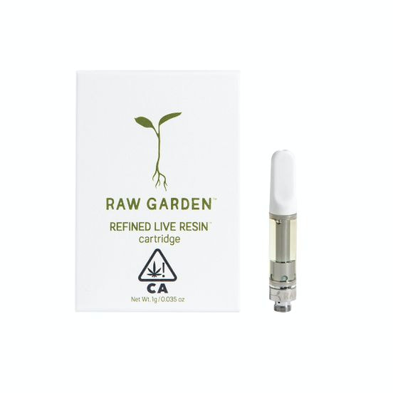 (PRE-ORDER ONLY) Happy Cookie -1g Cartridge (82.39%THC) Raw Garden