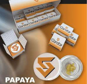 5CARATS - PAPAYA MANGO BADDER LIVE RESIN 67%THC