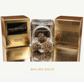 B. Malibu Gold 3.5g Flower - 9/10 - Dosidos (~25% THC)