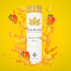 Agua de Flor - 100mg Mango