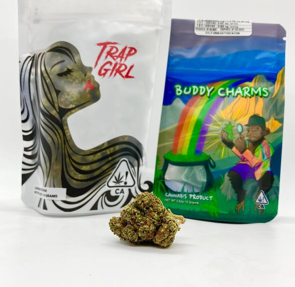 *Deal! $75 1/2 oz. Gushers (Indoor/26.09%/Hybrid) - Trap Girl + Buddy Charms